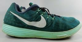 Nike LunarTempo 2 Size US 14 M (D) EU 48.5 Men's Running Shoes Green 818... - $37.93