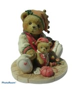 """Cherish Teddies Meri """"Handsewn Holidays"""" Figurine #141135 - $11.88"""
