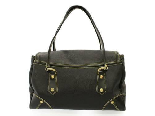 LOUIS VUITTON L'Absolu Suhali Leather Noir M95847 Shoulder Bag Authentic 5460236
