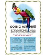 Going Ashore - Keep What You Know To Yourself - 1940's - World War II - ... - $11.99