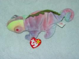 Ty Beanie Original baby Iggy The Iguana 1997 Retired - $890.00