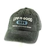 Life is Good 1994 Positive Lifestyle Brand Navy Blue/White Baseball Cap ... - £15.45 GBP