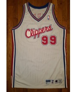Authentic 1998-99 LAC Los Angeles LA Clippers PERRY Game Pro Cut Jersey ... - $199.99