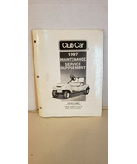 1997 Club Car Maintenance Service Supplement 1019345-04 - $35.44
