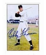 Bobby Thomson autographed baseball card (New York Giants) 1979 TCMA #202... - $22.00