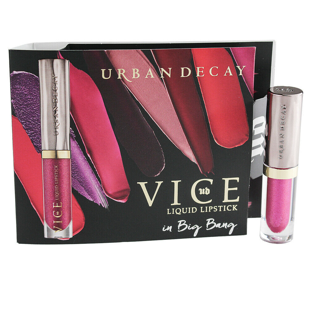 Primary image for Urban Decay Vice Liquid Lipstick - Big Bang, Travel Size 0.02oz/0.75ml
