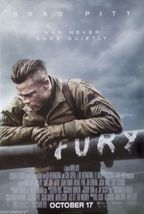 2014 FURY WWII Movie Poster 11x17 David Ayer Film Brad Pitt Scott Eastwo... - $7.99