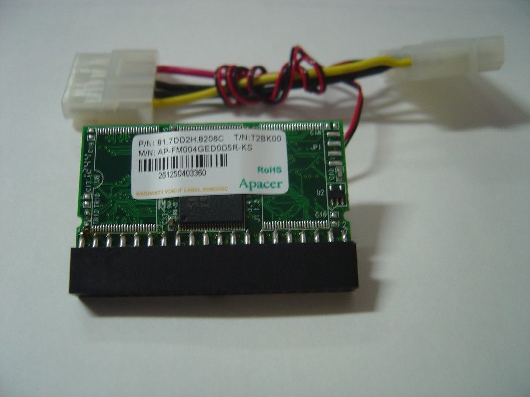 "4GB DOM SSD Replace Vintage 3.5"" IDE Drives with this 40 PIN IDE DOM SSD Card"