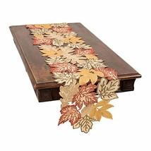 Xia Home Fashions Autumn Leaves Table Runner, 15''x90'', (15''x90''|Beige) - $40.40
