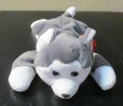 Ty Beanie Baby Nanook the Husky Gasport Tag Error NEW - $14.84