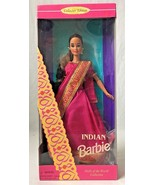 Indian Barbie Dolls of the World 14451 with Doll Stand 1995 - $19.95