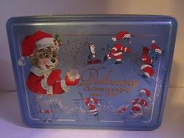 Vintage Christmas Magic Santa Mouse Tin SWISS COLONY Chris Mouse Free Sh... - $9.71