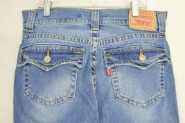 Levi 542 jeans slouch 10 x 31 flare twisted leg flap back pockets boho hippie image 6