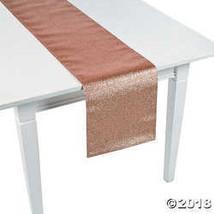 Rose Gold Glitter Table Runner  - $21.99