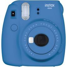 Fujifilm Instax Mini 9 Instant Camera (cobalt Blue) FDC16550667 - $99.55