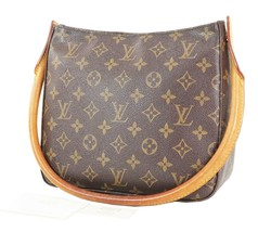 Authentic LOUIS VUITTON Looping MM Monogram Shoulder Tote Bag Purse #33702 - $429.00