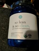 Ora Organic Vegan Protein Powder Chocolate So Lean & So Clean 22.9 OZ EX... - $22.77