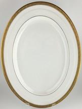 """Rosenthal Madeleine oval serving platter (15"""") Gold encrusted - $50.00"""
