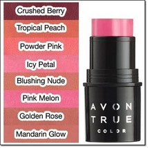 "Avon True Color Be Blushed Cheek Color ""Powder Pink"" - $7.99"