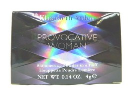 Provocative By Elizabeth Arden .14oz/4g Shimmering Powder In Puff (NIB) - $13.45