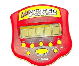 Radica Color Poker Handheld LCD Electronic Game  Tested - $11.58