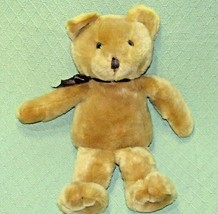 "Vintage SWIBCO Teddy Bear 18"" 1998 MJC Tan Plush Stuffed Animal Lovey Br... - $23.38"