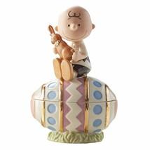 New in Sealed Box Lenox Charlie Brown Easter Egg Box - $48.50