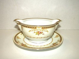 Vintage Meito China Asama Shape Made In Japan Soup Bowl & Saucer One Piece - $15.84