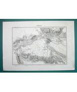 1846 MAP - SWITZERLAND Environs of Zurich Dietikon Uitikon Regensdorf Ur... - $18.90
