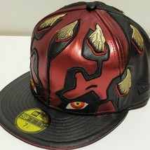 Neu Star Wars X New Era 59FIFTY Darth Maul Kappe Limitierte Größe 7 1/4 - $343.97