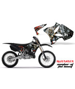 Dirt Bike Shroud Graphics Kit Decal Wrap For Yamaha YZ125 YZ250 02-14 IM... - $49.45