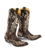 """Old Gringo Women's Lucky 13"""" Horse Shoe Cowboy Western Boots Chocolate L... - $349.99"""