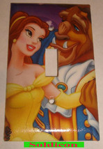 Beauty and the Beast Light Switch Power Outlet Wall Cover Plate Home decor image 1