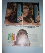Vintage Tame Cream Rinse Print Magazine Advertisement 1971  - $6.99