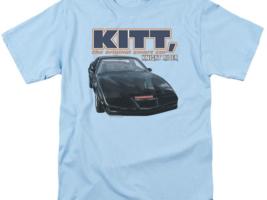 Knight Rider KITT the original smart car retro 80's TV series graphic tee NBC555 image 2