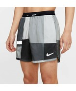 Nike Flex Stride Wild Run 5 Inch Men's Running Shorts. Color: Blk/Grey. Size:LG - $64.00