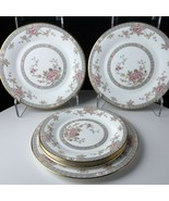 Royal Doulton Canton Chinoiserie Salad Plates and bread plates 3 of each - $102.85