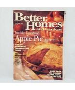 Better Homes and Gardens Magazine November 1995 Apple Pie Thanksgiving T... - $9.99