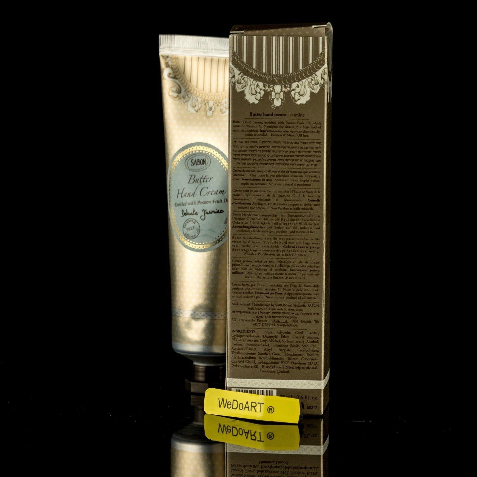 SABON DELICATE JASMINE Butter Hand Cream • 75ml-2.6FL.oz