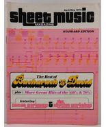 Sheet Music Magazine April/May 1978 Standard Edition - $3.99