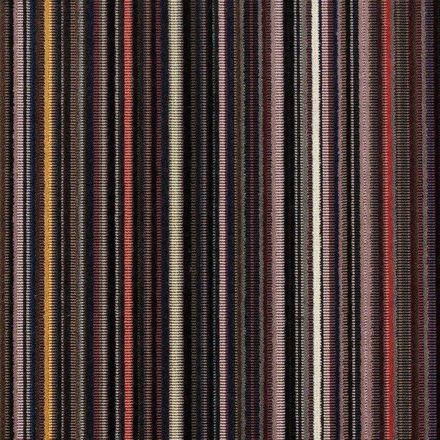 Maharam Epingle Stripe Upholstery Fabric Violet 1.16 yds 466007–003 RP