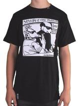 LRG Sollevò il Gruppo di Ricerca Uomo Black Youth È Truth Slim Fit T-Shirt Nwt