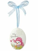 My Grandma Precious Moments Ornament Christmas Snowman Cocoa Snowflake New  - $9.89