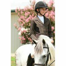 KAKI Jumper Jacket Chocolate Size 16 Child Youth NEW! image 1