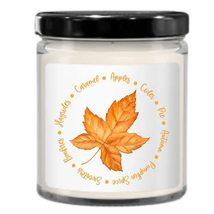 Fall Candle, Autumn Themed Decor, Cozy, Cute Minimalist Idea for Neighbo... - £18.14 GBP