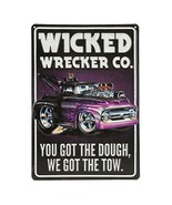 Open Road Brands Wicked Wrecker Tin Sign - $18.73