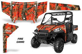 UTV Graphics Kit SxS Decal Wrap For Polaris Ranger 570 900 2013-2015 FIR... - $395.95