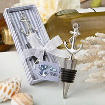 Nautical Themed Anchor Bottle Stoppers Wine Party Favors Pack of 16 - $58.41