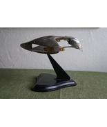 Franklin Mint Pewter Star Trek Romulan War Bird Ship - $247.25