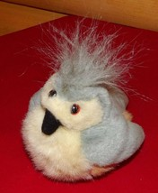 "K & M Audubon Plush 6"" Gray Cream Peach Songbird with Call Sound - $9.89"